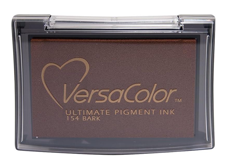 Tsukineko VC000154 Full-Size VersaColor Ultimate Pigment Inkpad, Bark