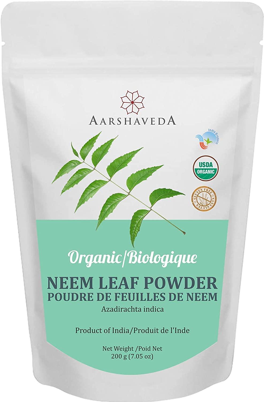 Bombing free shipping Lendom Aarshaveda Neem Leaf Powder Nat Grams All 200 Attention brand Organic