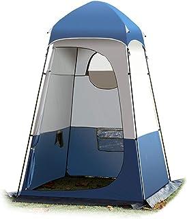 Camping WC BOOD Tienda Pop Up Privacy Ducha Tienda Camping Camping Tienda Tienda Tienda Cambio de vestuario Lluvia Shelter con ventana con bolsa de transporte para al aire libre en el interior marco c