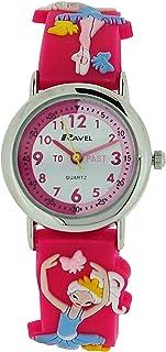 Ravel Time Teacher 3D Ballerina Design Strap Watch + Telling Time Award R1513.73