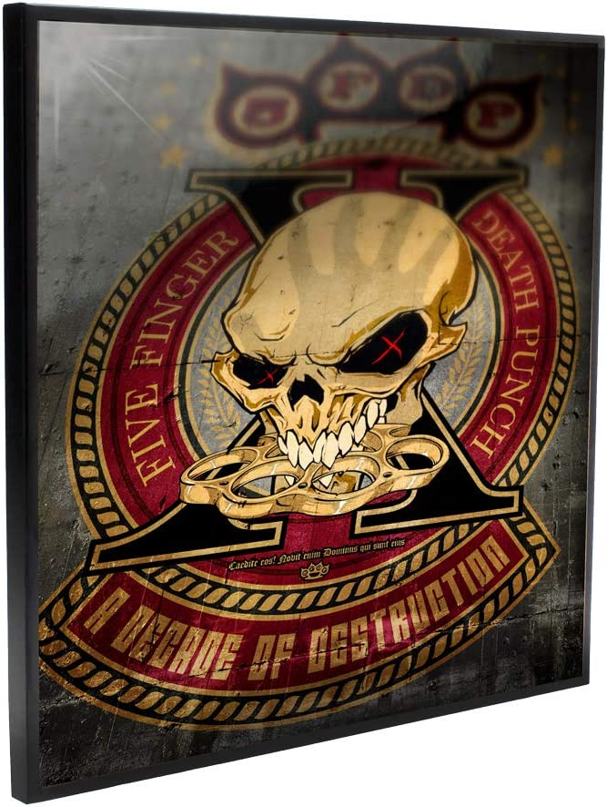 Nemesis All stores are sold Now Five Finger Death Punch Indianapolis Mall Decade of C 5FDP Destruction