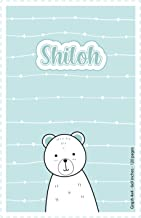 Shiloh: Personalized Name Squared Paper Notebook | 6x9 inches | 120 pages: Note Book for drawing, writing notes, journalin...