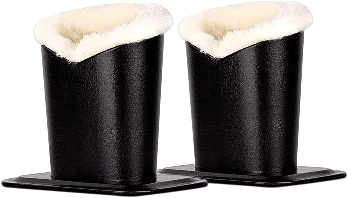 Pack of 2 Max 45% Shipping included OFF Plush Lined Stand Eyeglasses Holder Glasses Protective