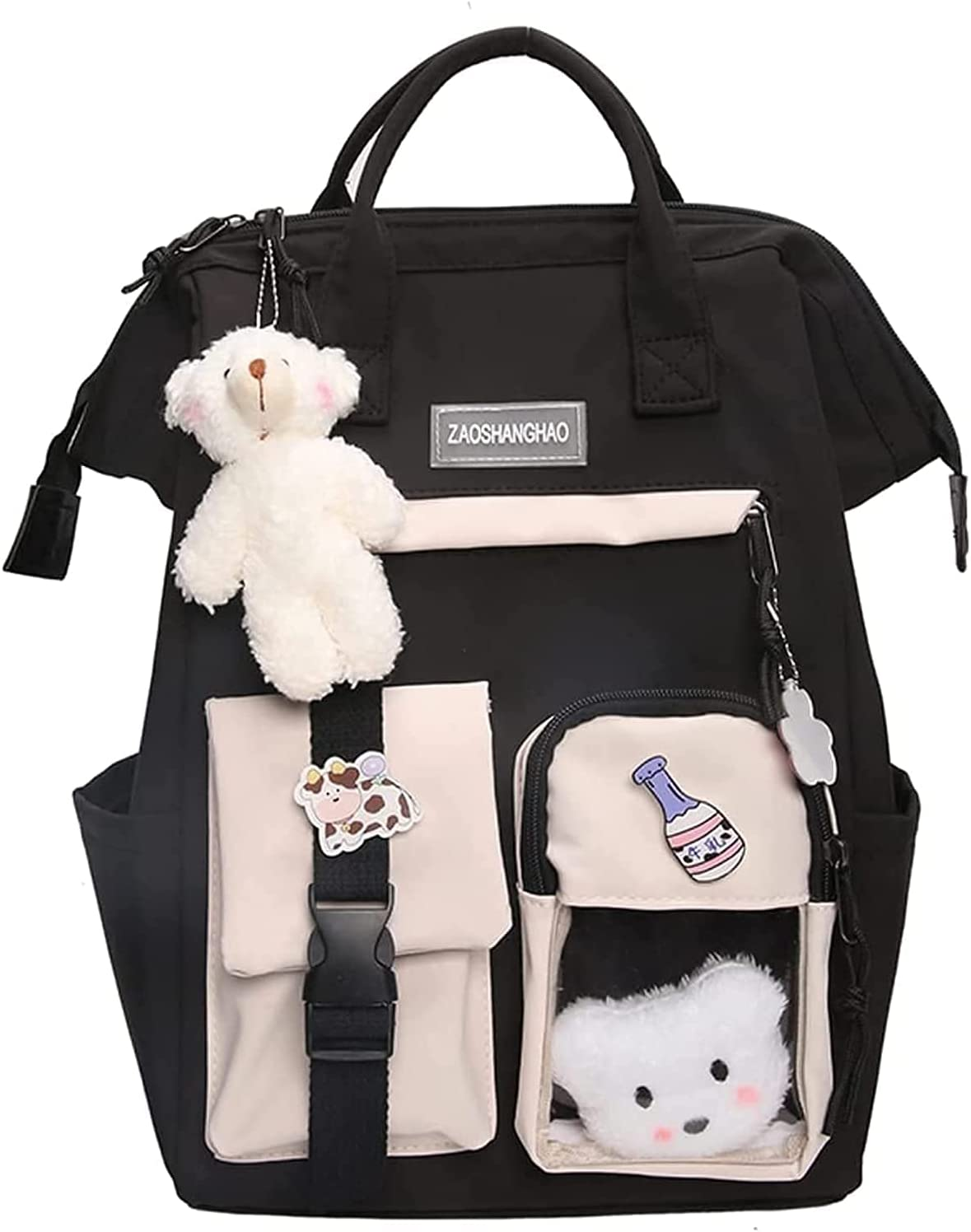 Kawaii Backpack with Pin Cute 5 ☆ popular Max 58% OFF Accessories