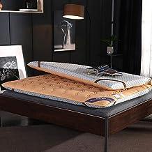 Thick Premium Mattress Pad,Japanese Futon Mattress Full,Non-Slip Floor Mattress Double Single Tatami Mat Sleeping,Quilted ...
