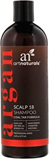 Artnaturals Argan Scalp 18 Shampoo, 16 Ounce