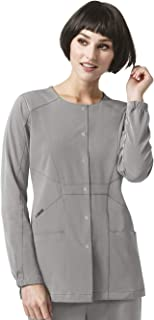 WonderWink Size Hp Prism Snap Front Women's Plus Scrub Jacket