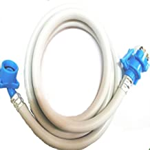 ZESI Fully Automatic Washing Machine 5 Metre Inlet Hose Pipe with Tap Adaptor