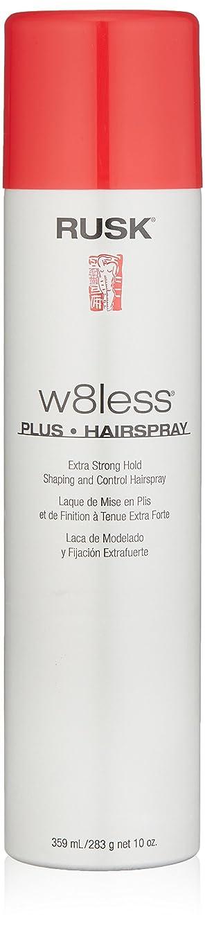 縮れた一般的に言えば故障中Rusk W8Less Plus Hairspray 250 g (並行輸入品)