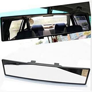 Hooke Road Auto Car 300mm Wide Convex Curve Interior Clip on Rear View Mirror Extender