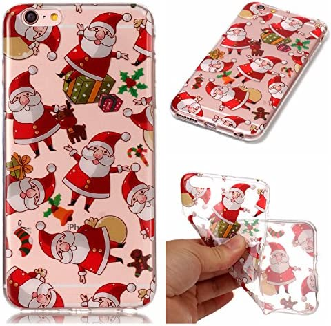 Folice iPhone 6 Plus 6S Plus Case Christmas Series Pattern Hybrid Drop Scratch Resistant Thin product image
