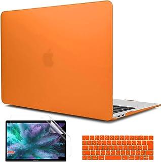 TwoL MacBook Air 13 インチ 専用 プラスチック ハードケース 13.3 インチ Mac Air 薄型 耐衝撃 保護 シェルカバー キーボードカバー 液晶保護フィルム 対応モデル: A1369 / A1466(2010-201...