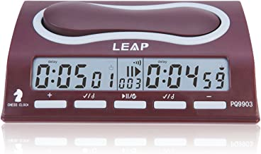 LEAP Digital Chess Clock Timer With 29 Timing Modes