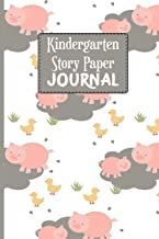 Kindergarten Story Paper Journal: Kids Drawing and Creative Writing Blank Line Notebook for School Children in The Classroom or at Home - ... (Kids Handwriting and Drawing Notebook)