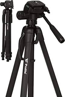 Prolite Tripod PL 630-LW (57 inch | Payload Upto 4 kg) | for DSLR, Video Camera, Mobile, GoPro