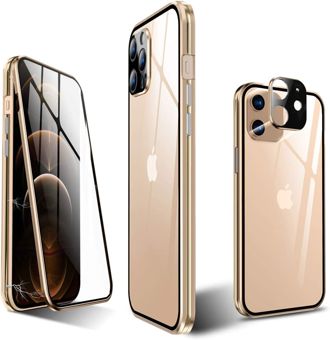 KumWum Full Body Magnetic Large discharge sale Case for iPhone National products Back and Mini 12 Front