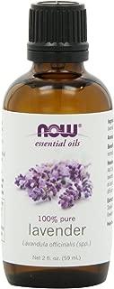 NOW Foods Lavender Oil, 2 Fl. Oz (Pack of 2)