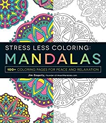 Mandala Coloring Books For Relaxation Stress Relief And Mindfulness Less Mandalas