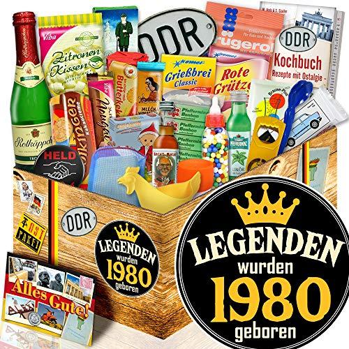 Legenden 1980 | DDR Geschenk | Geschenk für Mann Geburtstag