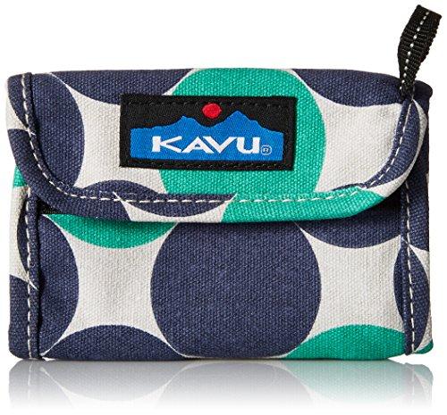 KAVU Women's Wally Wallet, Ocean Dot, One Siz