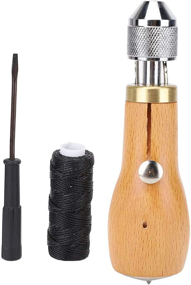 Leather Sewing Limited time for free shipping Awl Beautiful Sew High to Indianapolis Mall Efficiency
