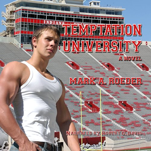Temptation University audiobook cover art