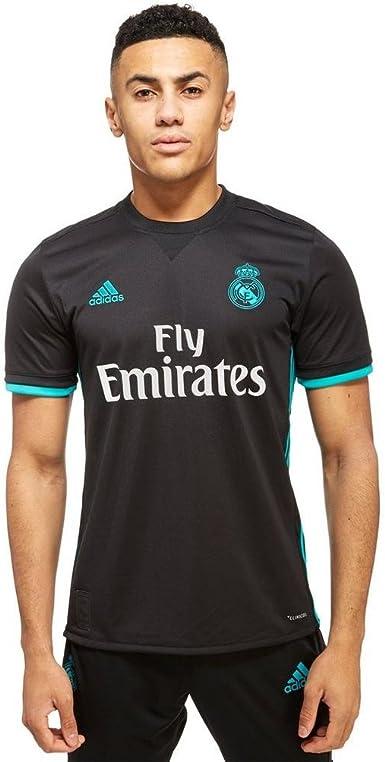 adidas Real Madrid Camiseta Temporada 2017/2018, Hombre