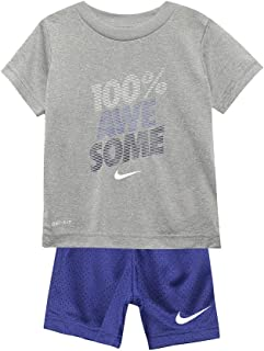 7beebe8f6d7a5 NIKE Children s Apparel Baby Boys  Graphic T-Shirt and Shorts ...