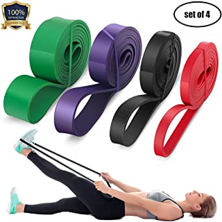 LEEKEY Resistance Band Set, Pull Up Assist Bands - Stretch Resistance Band - Mobility Band - Powerlifting Bands Resistance...
