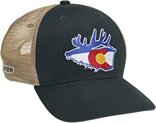 Rep Your Water Colorado Mesh Back Hat-Elk/Forest/Tan-One Size