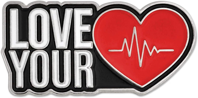 PinMart American Heart Month Awareness 超定番 Your Beat 割引も実施中 Love Enam