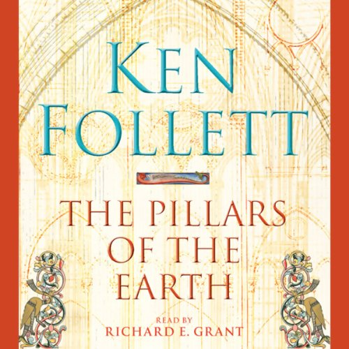 The Pillars of the Earth audiobook cover art