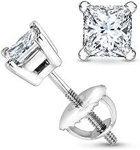 Best half carat princess cut diamond earrings Reviews