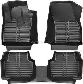 2005-2013 E90-E91 fussmattenprofi.com Tapis de Sol Voiture 3D Premium sur Mesure Adapt/é pour BMW 3