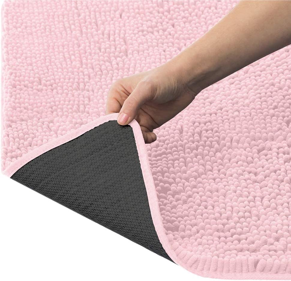 Ranking TOP3 KANGAROO Luxury Chenille Bath Rug Absorbe and Soft Extra 30x20