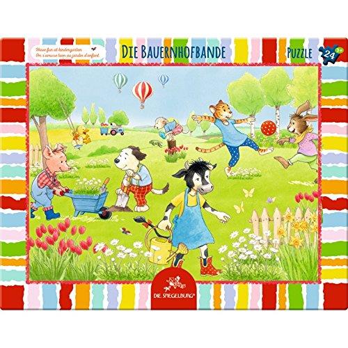 Spiegelburg 24Stück der Farm, Gang Rahmen Puzzle, 37x 29cm, Modell # 13041