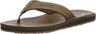 Quiksilver Hombre Carver Nubuck - Sandals For Men Zapatos de playa y piscina