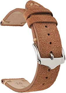 Genuine Leather Watch Bands Crazy Horse/Oil Wax/Suede/Vegetable-Tanned Leather Watch Straps Replacement Watchbands 18mm 19mm 20mm 22mm
