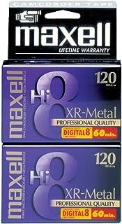 Maxell 2 Hi8 MP Video сassette 120min 2pieza(s) - Cinta de Audio/Video