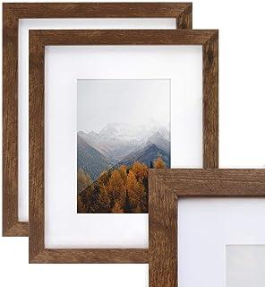 "Afuly Flat2CM Brown, MDF Wood, Brown, 8x10*2pcs, 8"" x 10"""