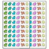 Haberdashery Online Pegatinas para niños   Gomets para Manualidades y decoración (Dinosaurios)