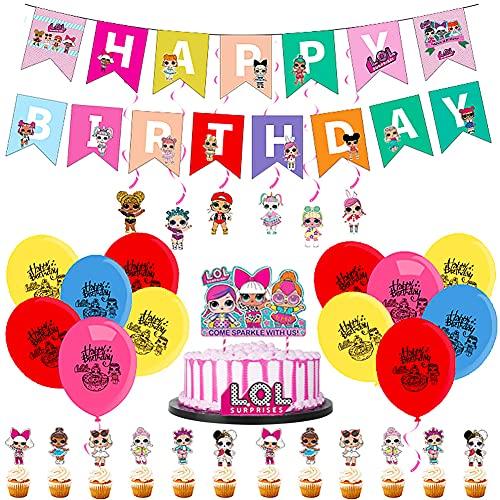 42pcs Surprise Party Supplies Decoraciones de Vajilla para Fiestas ,se Aplica a Fiestas de cumpleaños de niños, Decoraciones de Mesa, Fiestas de Barbacoa