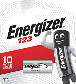 Energizer 3V 123AP BP1 MAX-SP Lithium Batteries (Pack of 1)