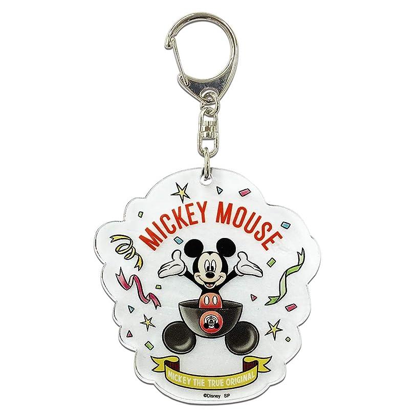 有彩色のどんなときも加速度ディズニー ミッキーマウス 90 YEARS OF MUGIC アクリル キーホルダー スタンダード APDSY3784