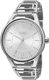 Relógio Feminino Euro Analógico Prata- Eu2035yep/3k