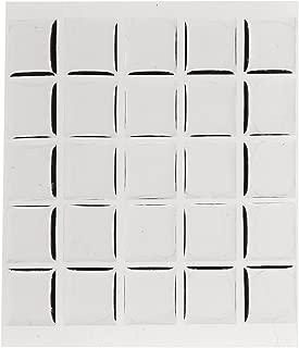 Beadaholique 100-Piece Epoxy Stickers, Fits Scrabble Tiles or Pendants, 18.5 by 20.4mm