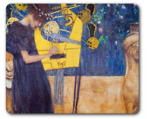 1art1 Gustav Klimt - La Musica, 1895 Tappetino per Mouse (23 x 19cm)