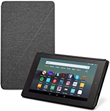 """Fire 7 Tablet (7"""" display, 32 GB) - Black + Amazon Standing Case (Charcoal Black)"""