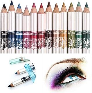 comprar comparacion CINEEN 12 Colores Larga Duracion Delineador de ojos Delineador de Labios Lápiz de Cejas Cosméticos de Belleza Maquillaje d...