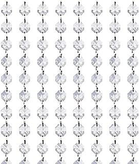 KUPOO Magnificent 16 Feet Crystal Acrylic Gems Bead Strands, Manzanita Crystals, Tree Garlands, Christmas Decoration